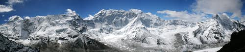 Baruntse seen from Island Peak at 5800m