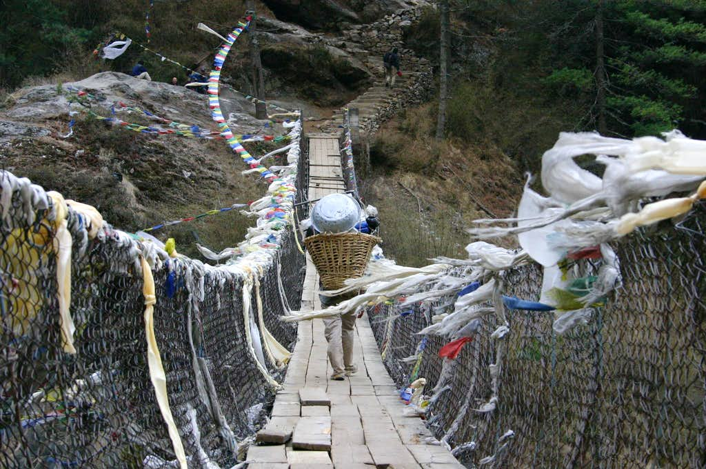 Bridge across Dudh Kohsi