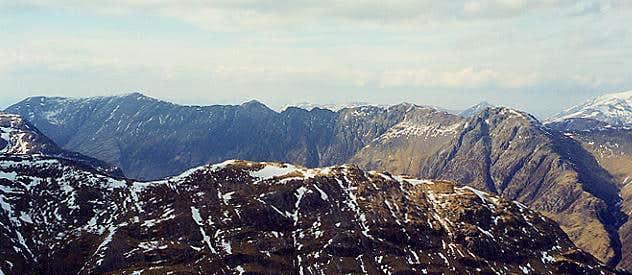 Aonach Eagach (south side)...