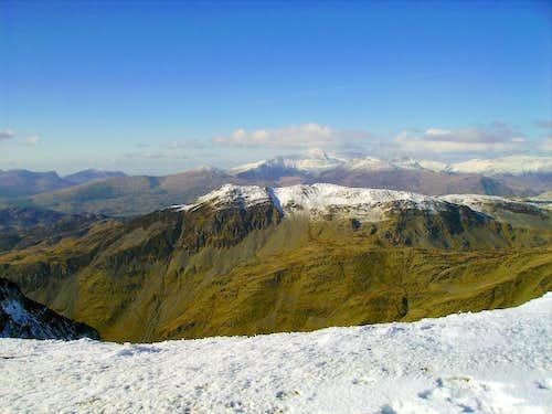 Cnicht Ridge and Snowdon