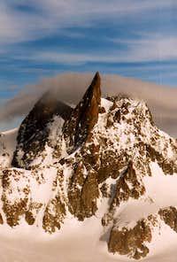 Dent du Géant seen from the Petit Capuçin