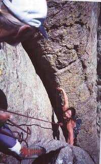 EXTENDED WIESSNER / WIESSNER...on Devils Tower, Wyoming.