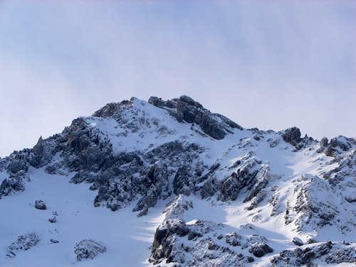 Sierra de Alanos in winter