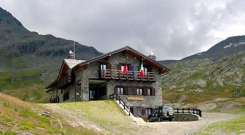Sogno di Berdzé hut