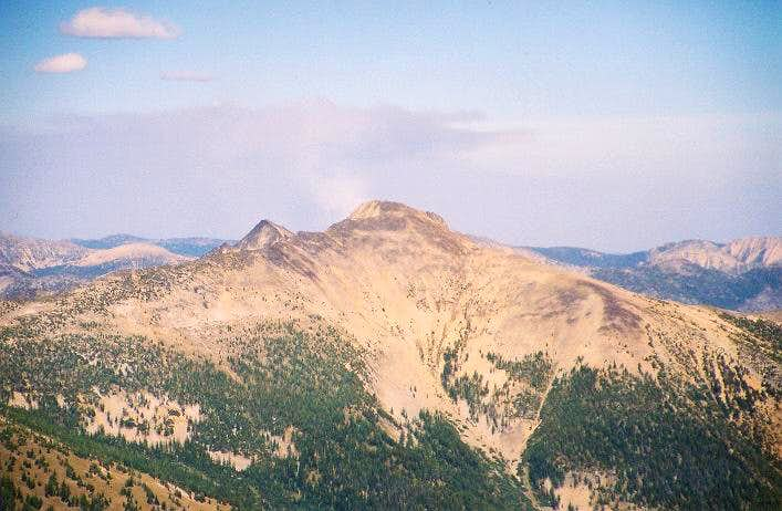 Lost Peak as seen from the...