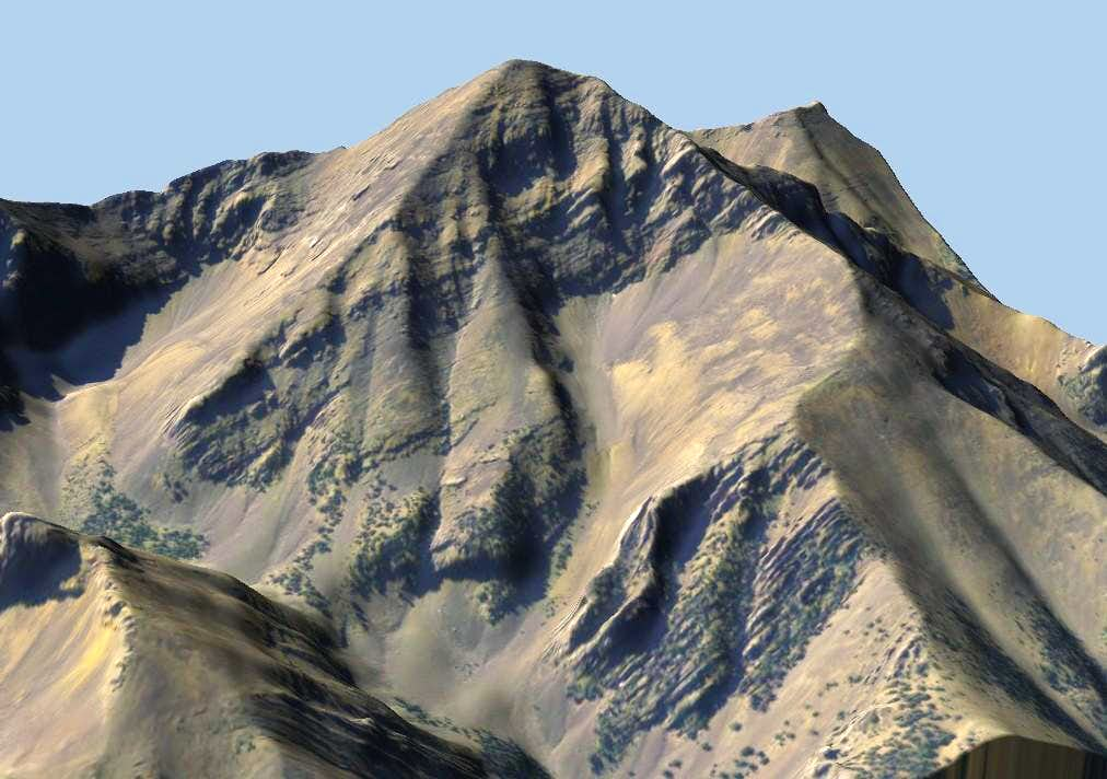 Diamond Peak 3D Model