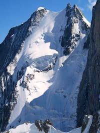 Aiguille Blanche north face