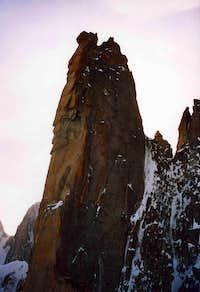 Grand Capuçin seen from the Petit Capuçin