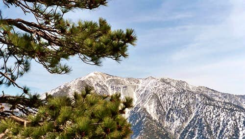 Mt. Baldy, San Gabriel Mountains