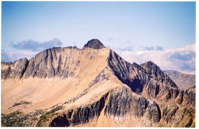 Blackcap Mountain as seen...