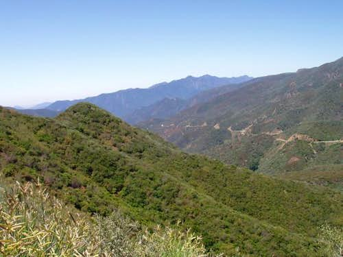 View from Hwy 33 north of Ojai