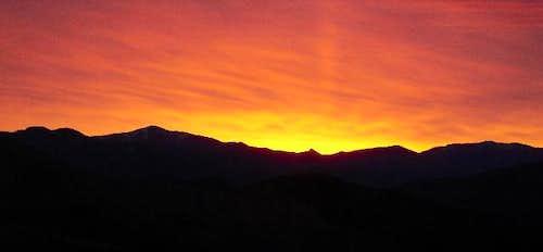 Dawn near Green Craggie