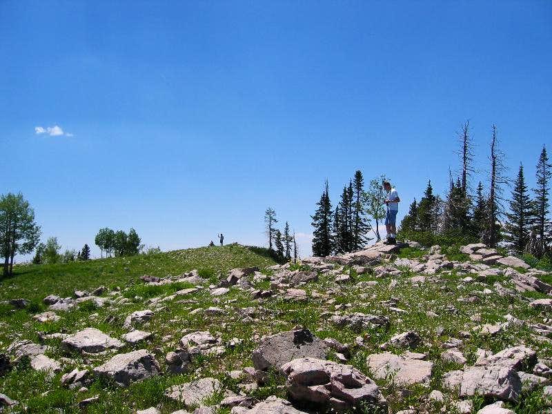 Atop Mine Camp Peak