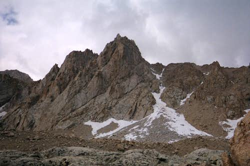 Mt. Irvine east couloir