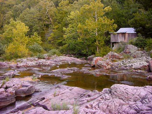 Klepzig Mill along Rocky Creek
