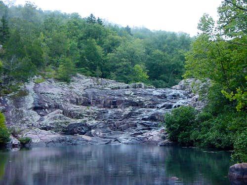 Below Rocky Falls