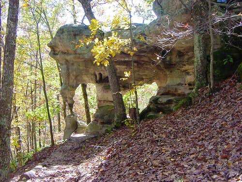 Double Arch at Picke Springs Natural Area