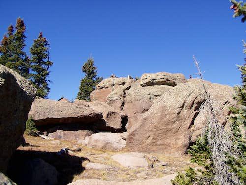 Final Rocks of Fish Lake Hightop