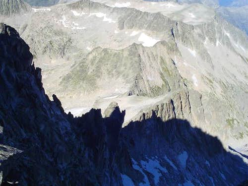 Salenques ridge from Margalida