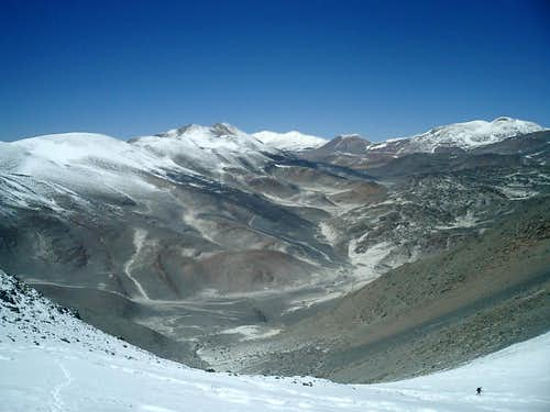South Face Glaciers