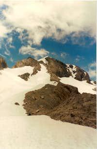 Monte Perdido from lago helado