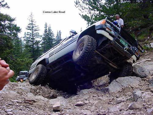 WOW - the Como Lake road,...