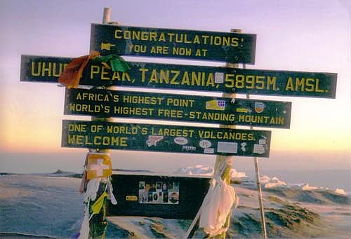 Roof of Africa; Jan 10, 2003