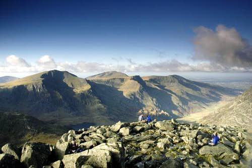 Panorama from Tryfan