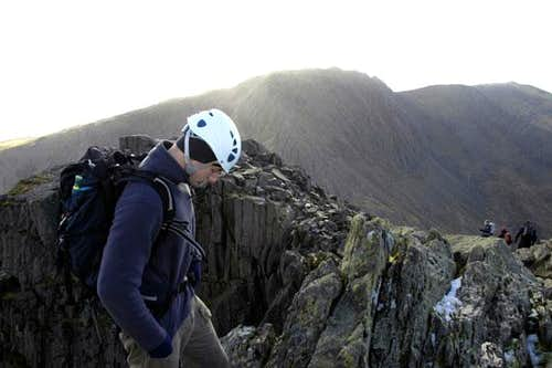 On summit Tryfan.