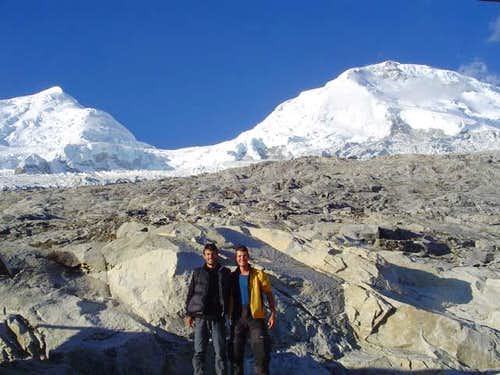 Both Huascarans from Don Bosco hut