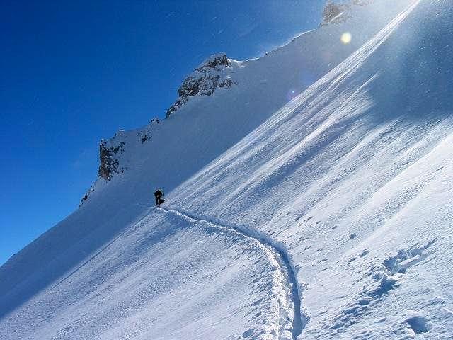 Skiing at Drei Tuerme
