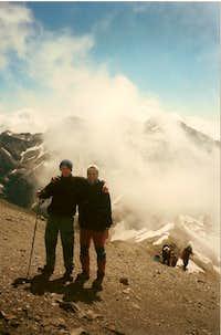 On the summit of Taillón.