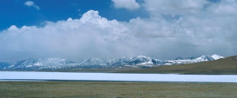 Takyd Tso and Mountains