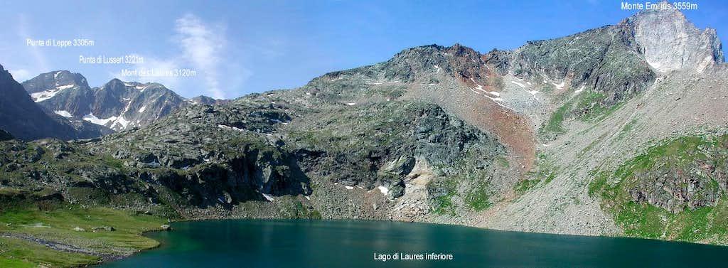 From Lago inferiore di Laures