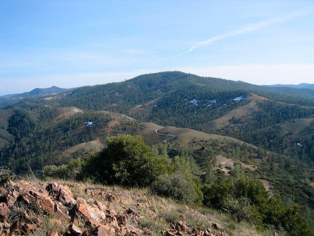 San Benitio, viewed from San Carlos Peak