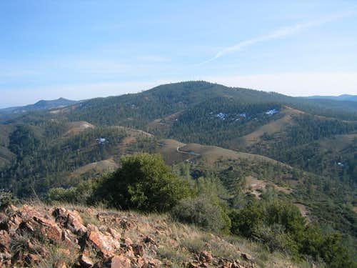 San Benito Mountain