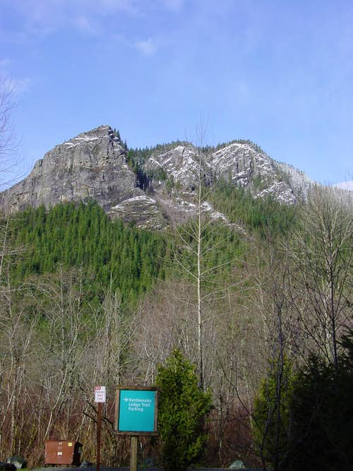 Rattlesnake Ledge West Face