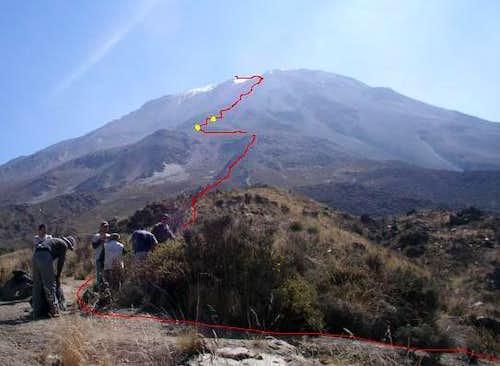 Misti Grau Route