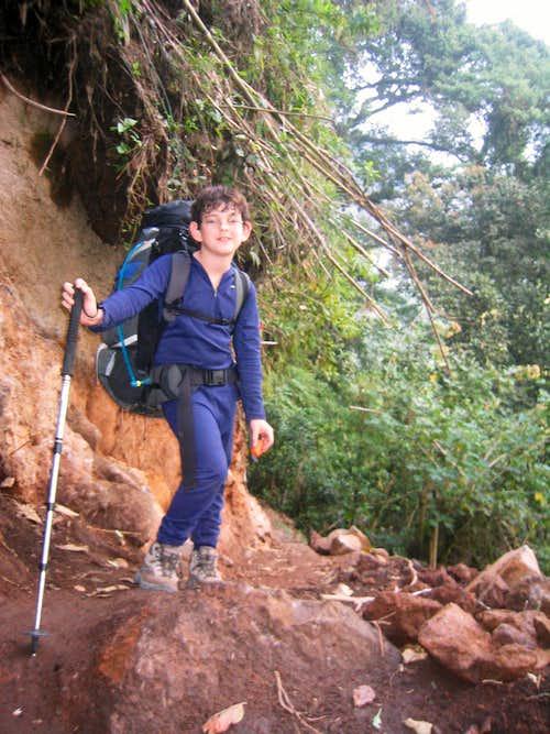 Konrad at Lower Elevation