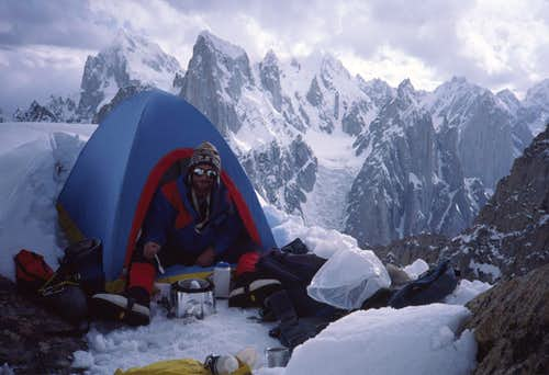 Great Trango Tower Camp