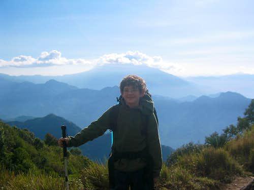 Guatemala's Tajumulco, from Mexico