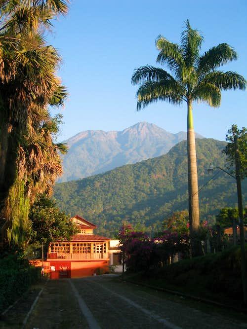 Volcan Tacana from Sto. Domingo
