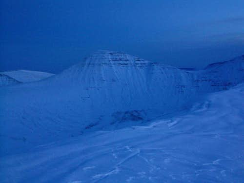 Cribyn at dusk