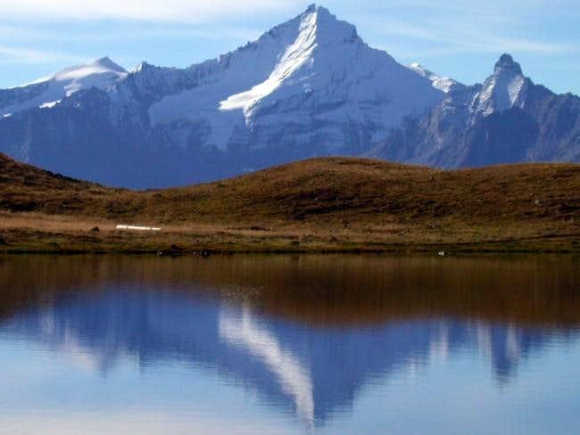 Punta Rossa (3630 m), Grivola...