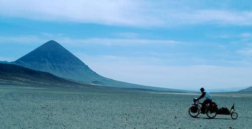 Ancient extinct volcano