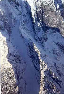 SW Buttress Couloir, Devil\'s Paw