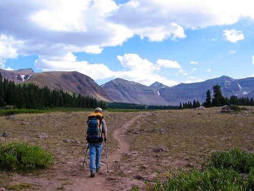 On the way to Kings Peak