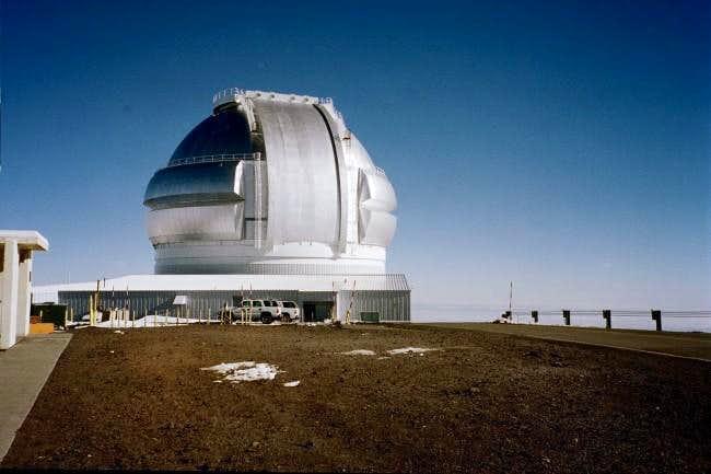 This Gemini North telescope,...