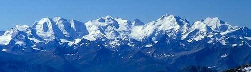 Bernina Group from north