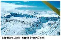 Stuart Fork drainage
